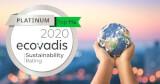 Ecovadis Platinum 2020 fcard misc