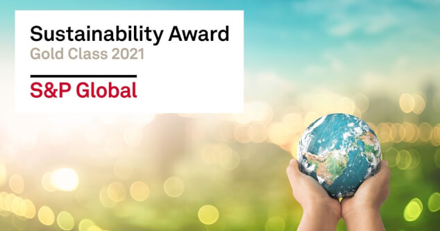 S&P Global sustainability award fcard misc