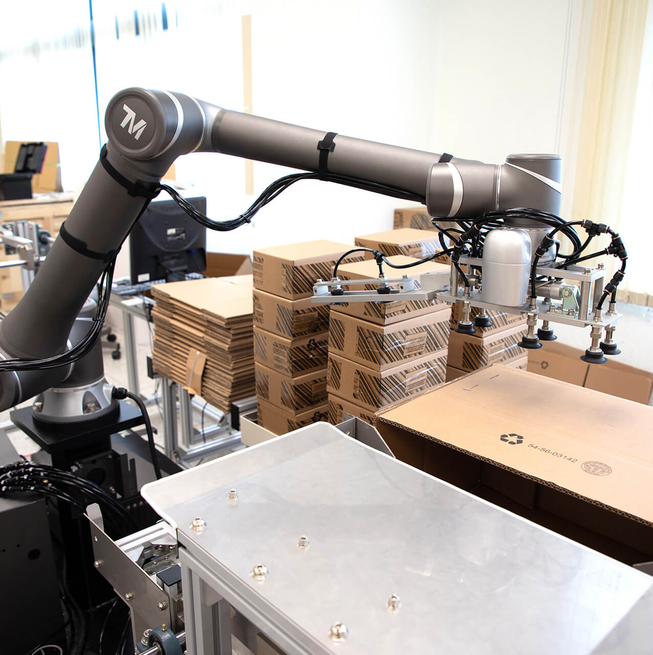cobot packaging application side sol
