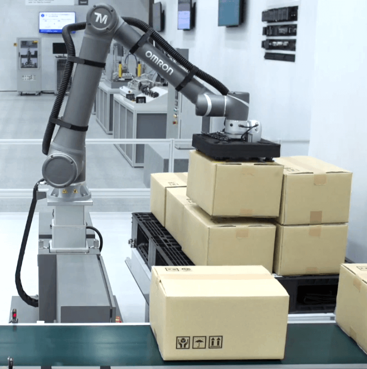 cobot palletizing application side sol