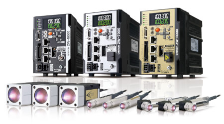 confocal fiber displacement sensor zw-8000 7000 5000 prod