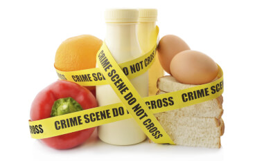 food crime scene newspri misc