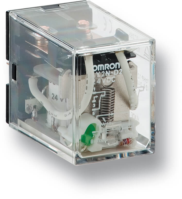 Omron LY2N-D2 Safety Relay 230VAC 24VDC