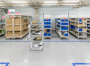 mobile robot factory sol