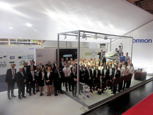 omron hannover messe 2017 event
