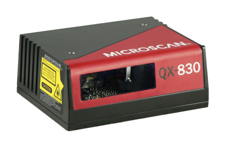 qx 830 industrial laser barcode scanner side prod