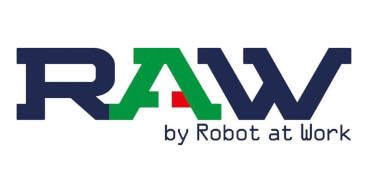 raw by robot at work fcard logo