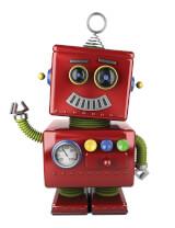 robot 1 white misc